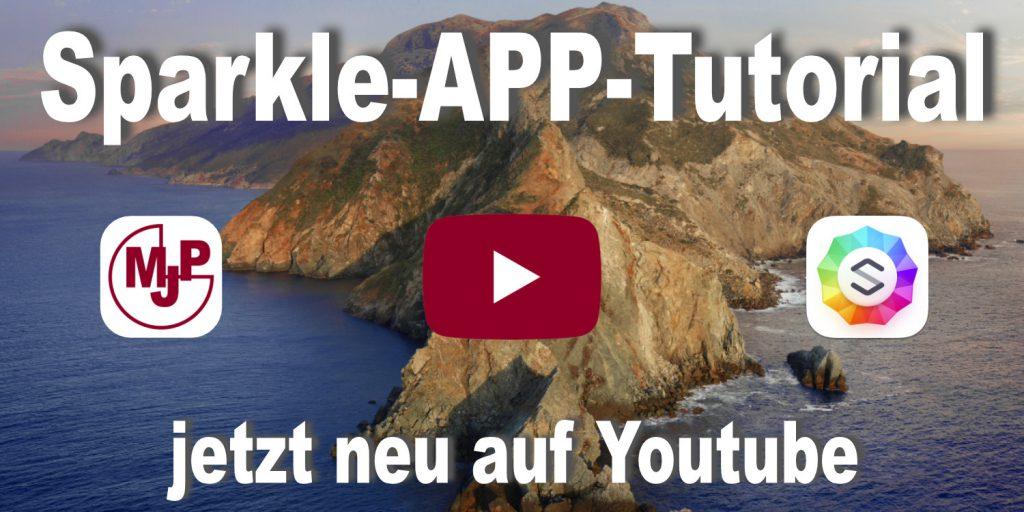 Sparkle App Tutorial auf deutsch
